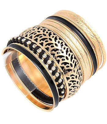 Image of STACKABLE BANGLE BRACELET