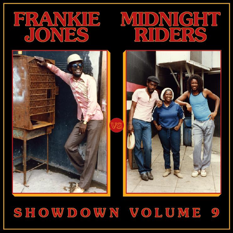 Image of Frankie Jones / Midnight Riders - Showdown Vol. 9 LP (Tasha)