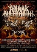 Image of ANAAL NATHRAKH @ The Dome, London - 5/11/14 [e-Ticket]