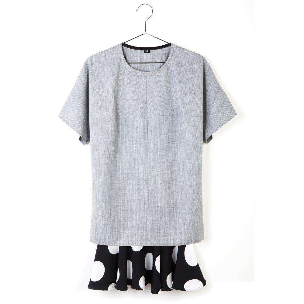 Image of STRAIGHT DOT DRESS