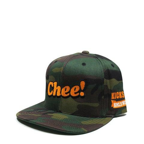 Image of Chee! NMLS WORLD x KICKS HAWAII Camo Snapback