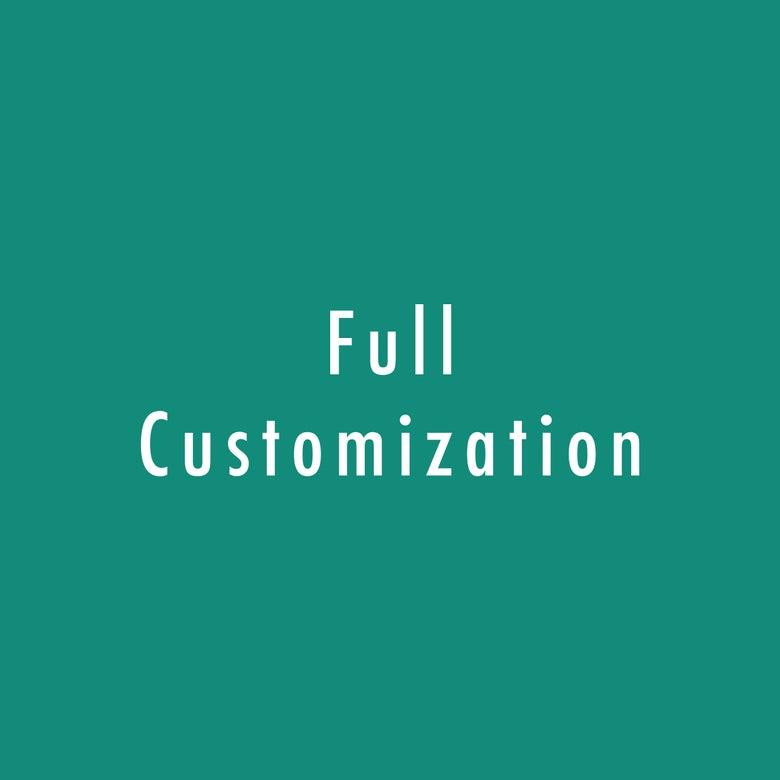 Image of Full customization