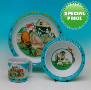 Image of Children's Tableware - SPECIAL PRICE FOR TWO SETS