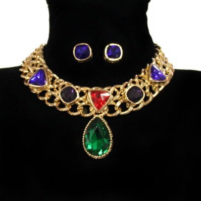 Image of Fashion Choker necklace Set