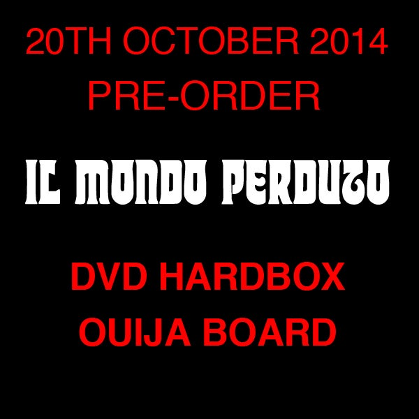 Image of IL MONDO PERDUTO DVD (Hardbox, Design OUIJA BOARD incl. Planchette, Limited 66)