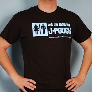 Image of Ask Me About My J-Pouch T-Shirt - Men's