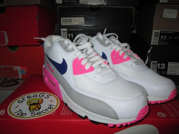 """Air Max 90 Essential WMNS """"Concord/Zen Grey/Pink Glow"""" - areaGS - KIDS SIZE ONLY"""