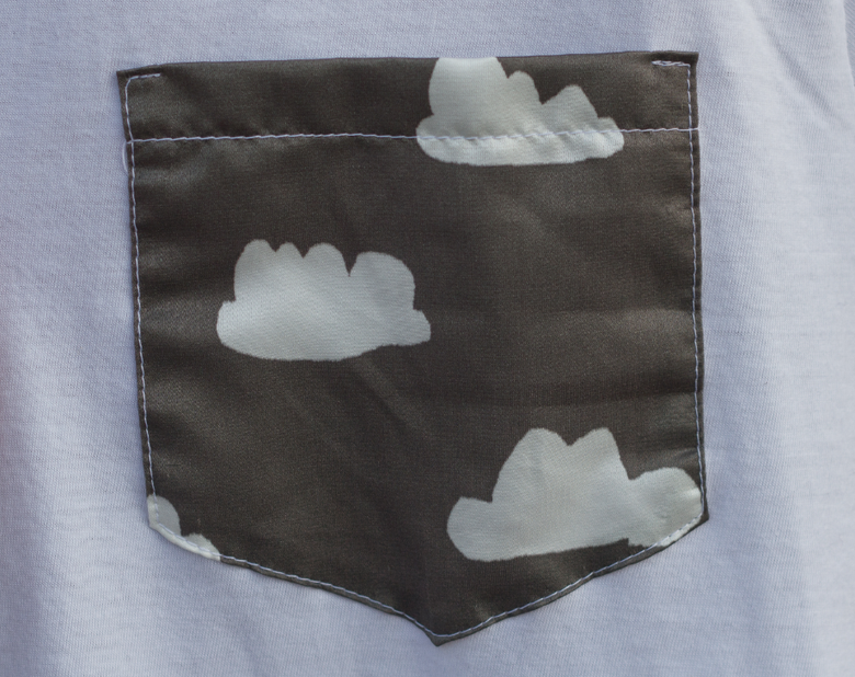 Image of Cloud Nothing Pocket Tee