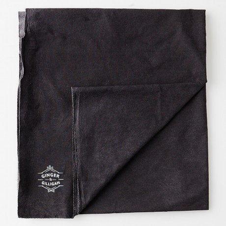 Image of FADED BLACK BEACH SHEET