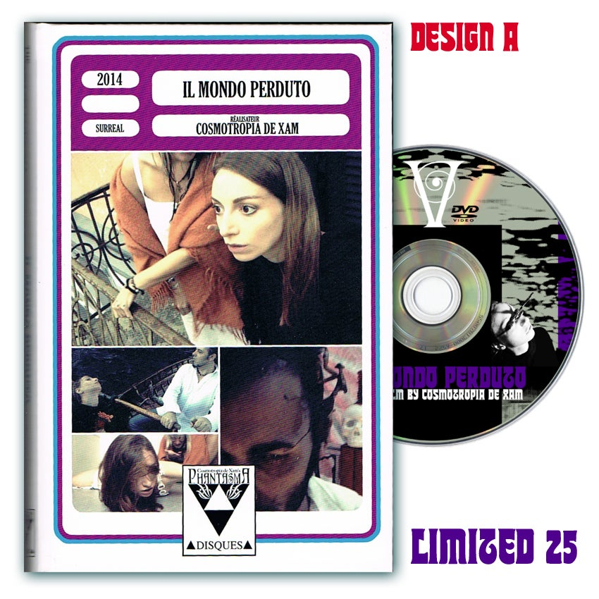 Image of IL MONDO PERDUTO DVD (Hardbox, Design A)