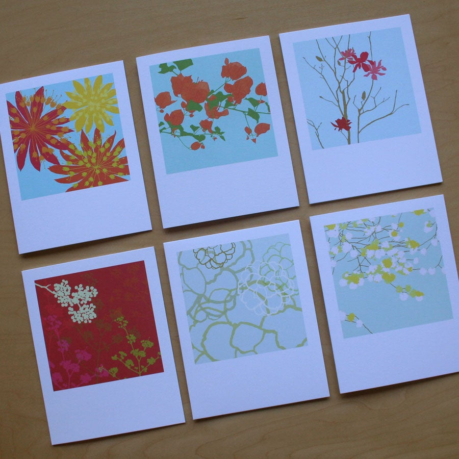 Image of Classic Card - Pack of 6 - D