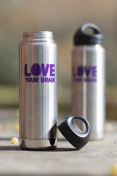 Image of LoveYourBrain Insulated Water Bottles