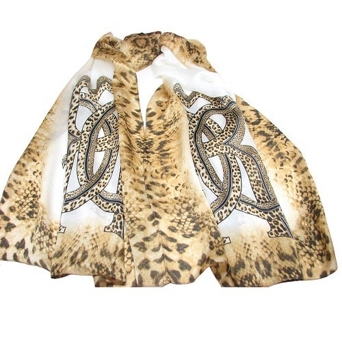 Image of SOLD OUT Roberto Cavalli Silk Scarf - BRAND NEW ON SUPER SALE
