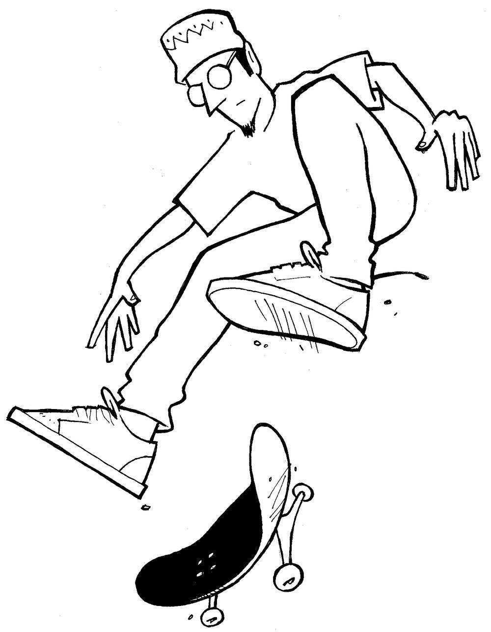 Image of LETTUS BEE / Mikemo Capaldi Original Ink Drawing
