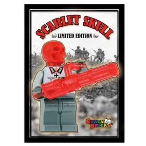 Image of Scarlet Skull Custom Minifig - ON SALE!