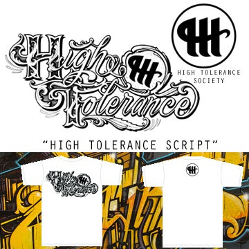 "Image of Men's ""High Tolerance Script"" Tee"