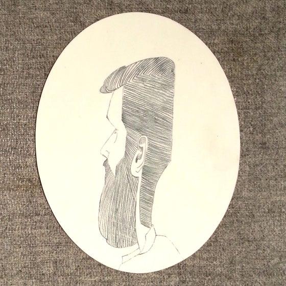 Image of Porcelain Portrait Plate (1 of 3)