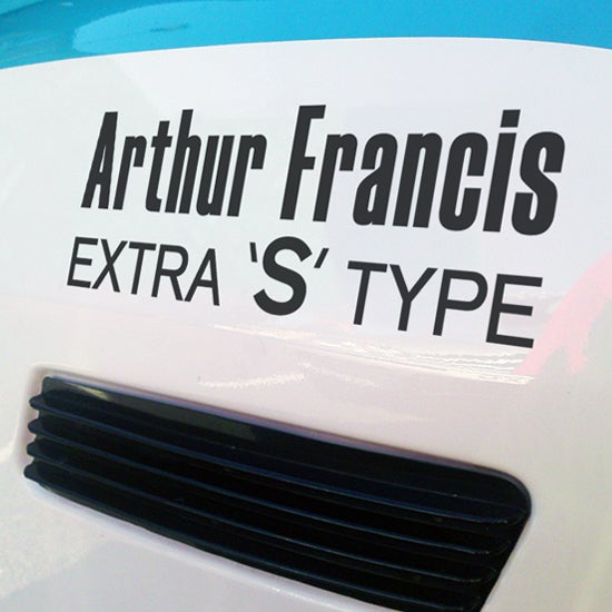 Image of AF Extra S Type Decals