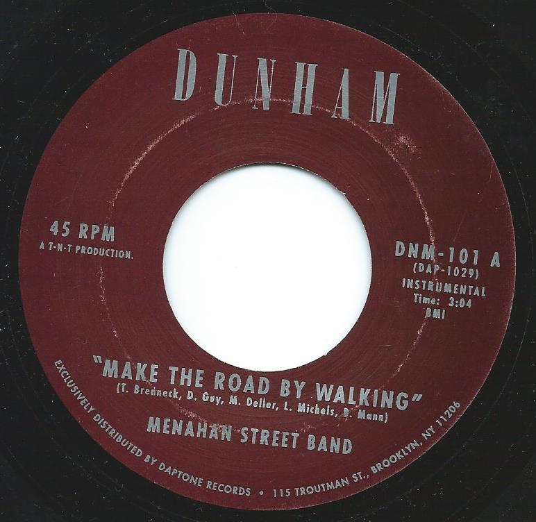 Image of MAKE THE ROAD BY WALKING/KARINA-MENAHAN STREET BAND