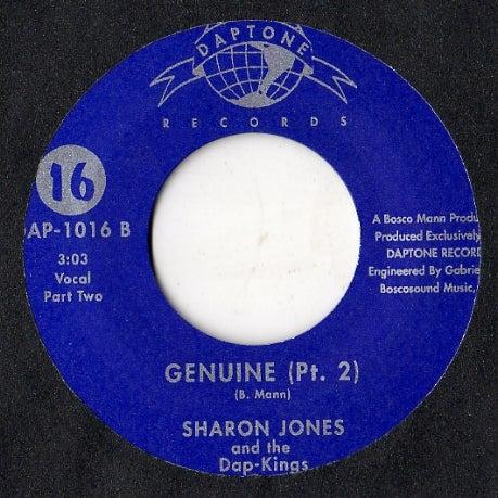 Image of GENUINE-SHARON JONES & THE DAP-KINGS