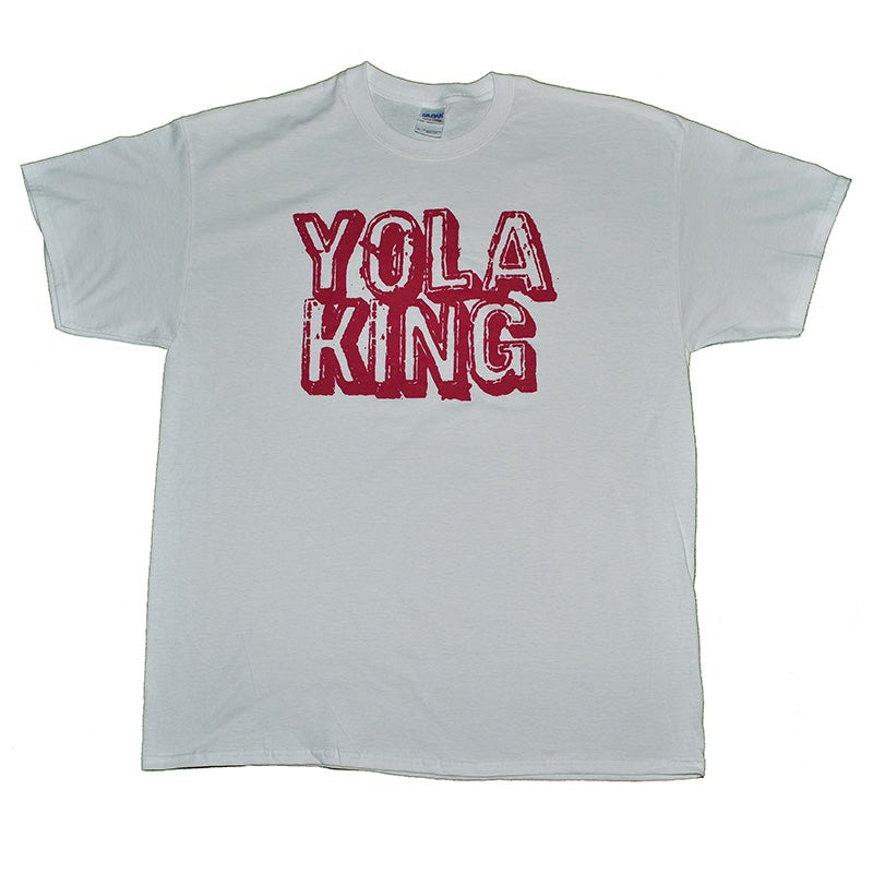 Image of Yola King T-Shirt (White/Red)