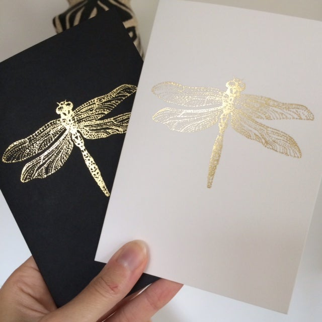 Image of Dragonfly card