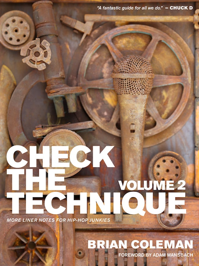 Image of CHECK THE TECHNIQUE VOL. 2: MORE LINER NOTES FOR HIP HOP JUNKIES