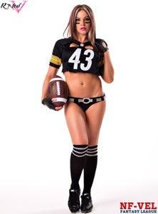 Image of Velvet Sky Pittsburgh Steelers Fantasy Football 18x24 poster