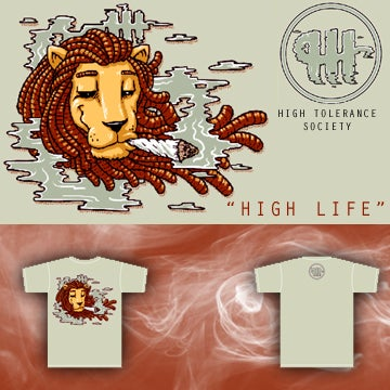 "Image of Lady's ""High Life"" Tee"""