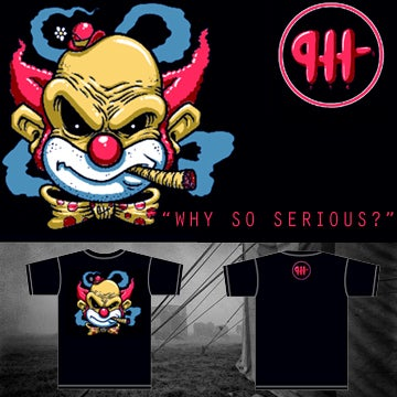 """Image of Lady's """"Why So Serious?"""" Tee"""""""