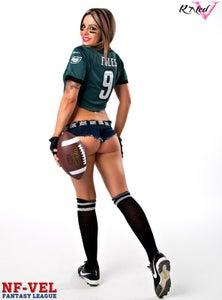 Image of Velvet Sky Philadelphia Eagles Fantasy Football 18x24 poster