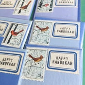 Image of Hanukkah Bird Mini cards