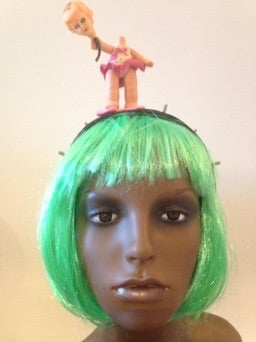 Image of Balloon Baby Creepy Head piece