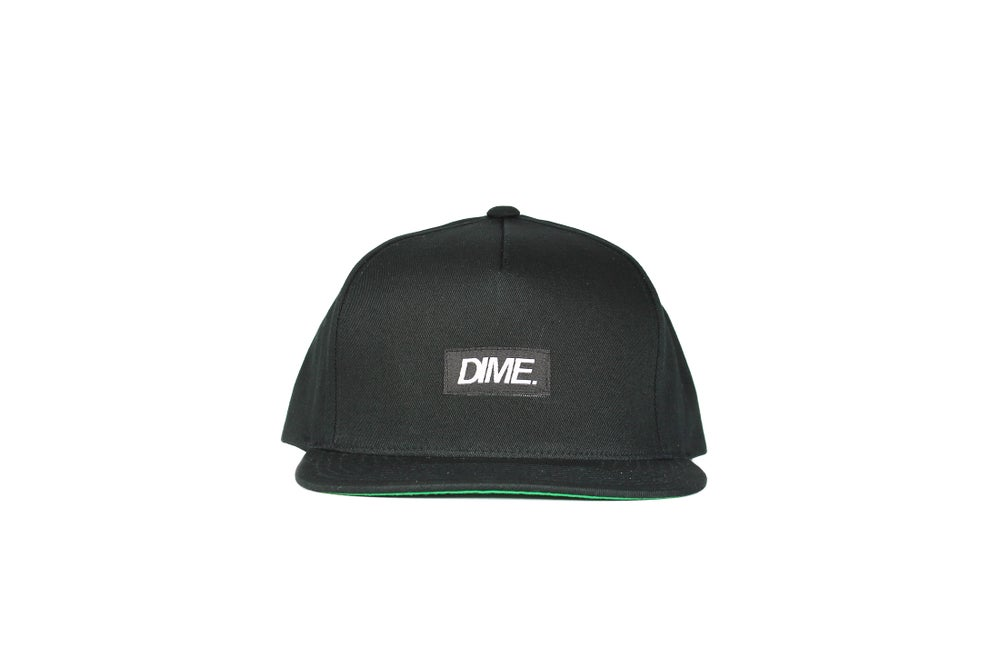 Image of 5-PANEL SNAP-BACK | O.G | BLACK