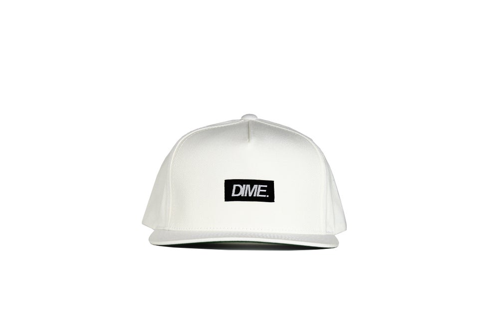 Image of 5-PANEL SNAP-BACK | O.G | WHITE