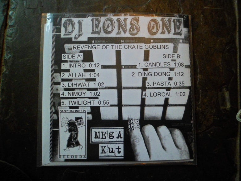 Image of DJ Eons One Revenge Of The Crate Goblins 7""