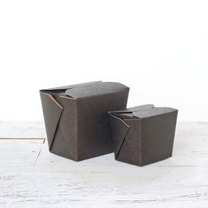 Image of Black Kraft Noodle Box