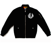 Image of Villain Monoram  Bomber Jacket