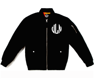 Image of Villain Monoram  Bomber Jacket