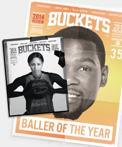 Image of BUCKETS: 2014 Review / 2015 Preview (Mag+Poster pack)