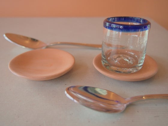 Image of Clay Mini Saucers