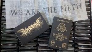 Image of  DEPRAVATION 'II:MALEDICTVM' TAPE / LP