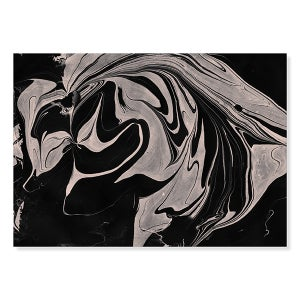 Image of Marble print / black