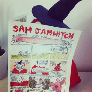 Image of Sam Jamwitch and the Snoozle Pigs- Comic