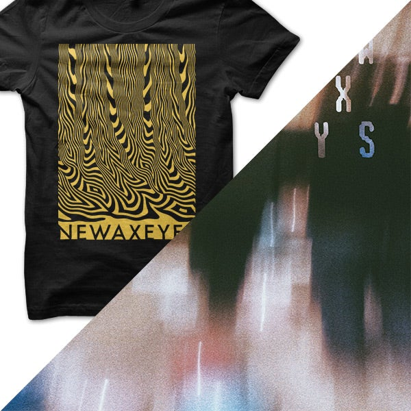 "Image of 12"" + Limited Edition T-Shirt Bundle – Yellow Graphic"