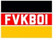 Image of FVKBOI (euro) box sticker