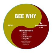 """Image of BEE WHY """"MISUNDERSTOOD"""" EP 12"""" (LIMITED 200 PIECES)"""