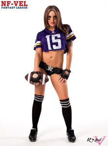 Image of Velvet Sky Minnesota Vikings Fantasy Football 18x24 poster