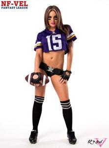 Image of Velvet Sky Minnesota Vikings Fantasy Football 18x24 poster