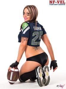 Image of Velvet Sky Seattle Seahawks Fantasy Football 18x24 poster